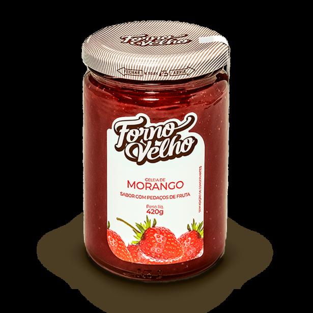classica geleia de morango