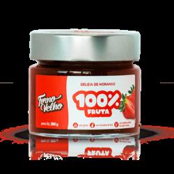 geleia de morango 100