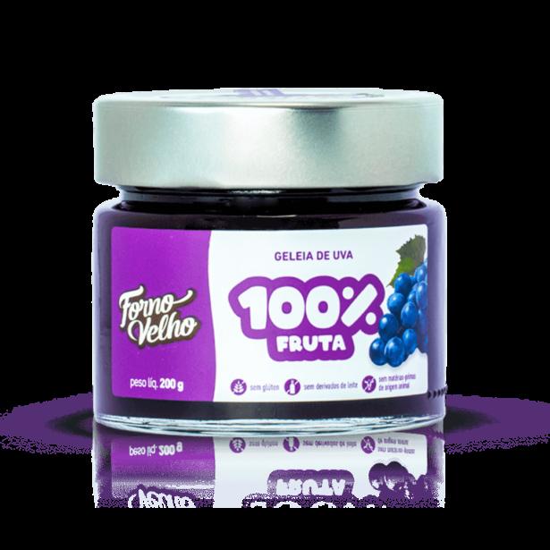 geleia de uva 100